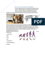 HISTORIA Y EVOLUCION DEL TURISMO