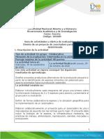 Guía de actividades y rúbrica de evaluación - Unidad 2 - Tarea 3 - Diseño de un proyecto de zoocriadero para una especie determinada .pdf