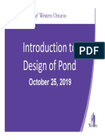 October 25 2019 Design of Pond using VO2