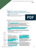 Diagnóstico y manejo del carcinoma de células escamosas de primario desconocido en la cabeza y el cuello_ guía de la ASCO