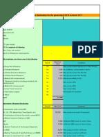 Income-Tax Declaration form