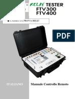 NF IT FTV300-400 CONTROLLO REMOTO SPI SPG Ed.29