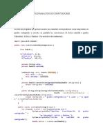 TRABAJO DE PROGRAMACIÓN ESC3 punto 3 y 6 (1)