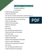 The Considerate Operators Freq Guide