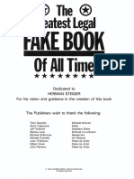 The Greatest Legal Fakebook