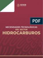 Necesidades Tecnológicas del sector hidrocarburos