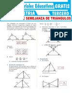 Problemas-de-Semejanza-de-Triángulos-Para-Tercer-Grado-de-Secundaria
