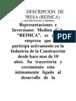 DESCRIPCION  DE LA EMPRESA.docx
