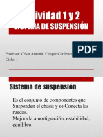 Actividad 1 y 2 suspension
