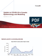 Canadian Government COVID-19 Modelling Update