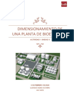 Dimensionamiento planta de bioetanol