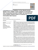 Challenging the EAU Guidelines on Non–Muscle-Invasive Bladder Cancer NMIBC-Single Instillation of Chemotherapy After