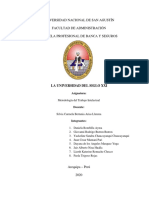 LA UNIVERSIDAD DEL SIGLO XXI - TRABAJO GRUPAL