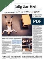 The Daily Tar Heel for January 28, 2011
