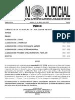 Boletín 31 de Mayo de 2018