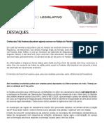 Observatório Legislativo - Edição nº 143 - Ciesp