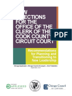 2020 Clerk Transition Report