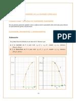 Aplicaciones de derivada