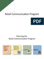 Retail Communication Program