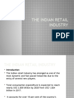 The Indian retail industry 2019
