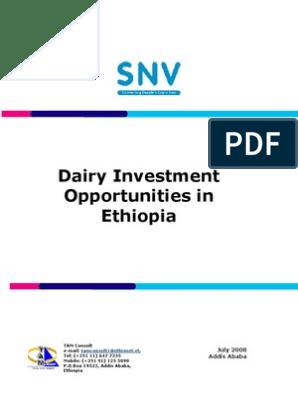 Dairy investment opportunities in ethiopia razzak darwiche investment