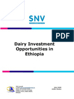 Dairy Investment Opportunities in Ethiopia