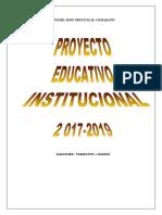 PEI.  I.E SJ-2017 a 2019 CULMINADO