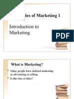 Principles of Marketing 1
