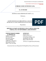 20200921 133 MM 2020 - Application for Partial Stay of September 17 2020 Judgment (1)
