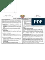 MOH registrationprocedures