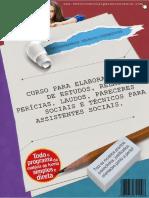 APOSTILA ELABORAÇÃO DE ESTUDO, LAUDO, PARECER, RELATÓRIO, PERÍCIA TÉCNICOS E SOCIAIS PARA ASSISTENTES_SOCIAIS