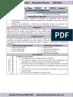 Plan Diagnóstico - 4to Grado Educación Física (2020-2021)