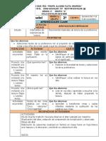 Noviembre - 2do Grado Español (2019-2020) RBK