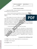 Devoir de contrôle N°1 - Français - 1ère AS (2009-2010) Mme Saida Azzouz