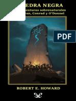La Piedra Negra y otras aventuras sobrenat - Robert E. Howard.epub