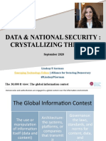 Data and National Security