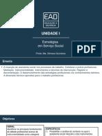 Estratégias em Serviço Social - Slides de Aula - Unidade I