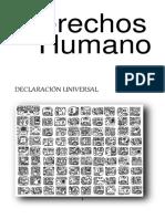 DERECHOS HUMANOS DECLARACIÓN UNIVERSAL