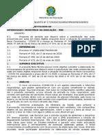 NOTA TÉCNICA CONJUNTA Nº 172020CGLNRSDPRSERESSERES