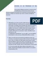 INTELIGENCIA EMOCIONAL DE LOS PERSONAJES DE WILL HUNTING