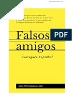 Lista de falsos cognatos português - espanhol _ español - portugués