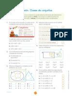 INCLUSION DE CONJUNTOS - 5TO DE PRIMARIA