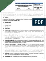 SST-052 Procedimiento Elaboración de Examenes Medicos Ocupacionales
