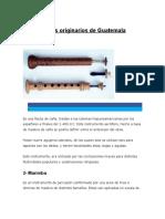 Instrumentos originarios de Guatemala.docx