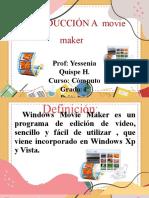 Iniciamos en Movie Maker 23-09