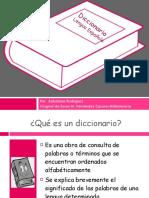 Uso del Diccionario.