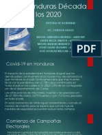 Presentacion Exposicion Grupo 7. Historia de Honduras.