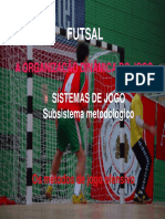 sistemas de jogo no futsal