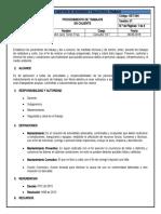 SST-094 Procedimiento de Trabajo en Caliente