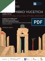 LOCANDINA. Alla scoperta di Mirko Vucetich. La Partita a Scacchi rivive in una monografia